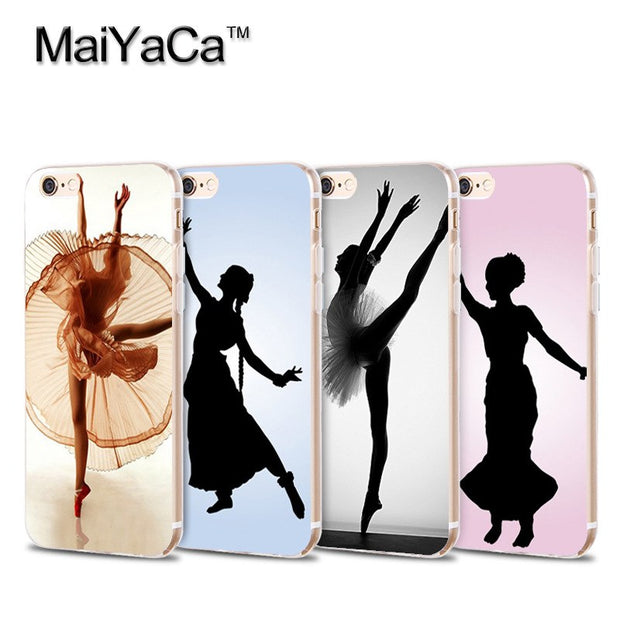 reputable site 86f7d deb2e Laumans Hot Printed Cool Phone Case For IPhone 6s Plus 6plus Case Ballet  Dance Girl