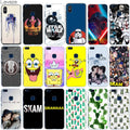Lavaza Star Wars SpongeBob SKAM Cactus Case For Huawei Honor 7a 7c Y6 9 P20 P Smart Lite Pro Plus Prime 2018