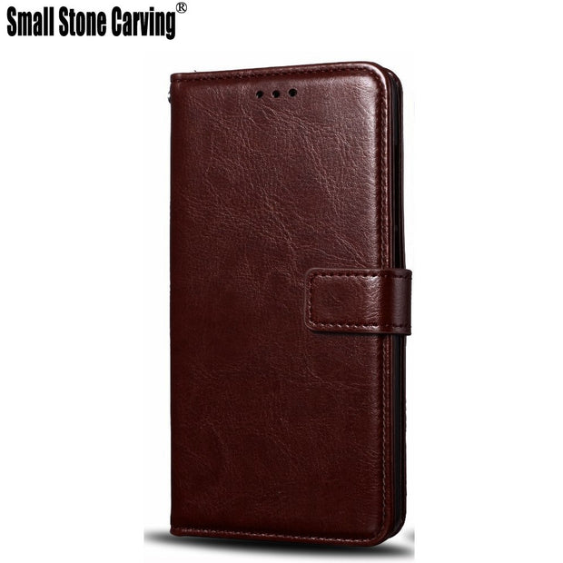 Leather Wallet Case For Samsung Galaxy S9 G9600 Flip Phone Case For Galaxy S9 Plus G9650 + Card Slot For Samsung Galaxy S9+ Case