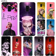 Lil Peep Bo Hot Fashion Transparent Case For Samsung Galaxy A3 A5 A9 A7 A6 A8 Plus 2018 2017 2016 Star A6S Note 9 8 Cover