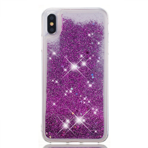 Liquid Case For Motorola Moto E4 G5S C G6 Z3 E5 Plus Play EU US 2018 Nokia 6.1 6 1 2018 ZTE Max XL Glitter Soft Silicone Cover