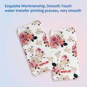 Luminous Case For IPhone 5 5S SE Beautiful Flower Pattern Back Cover For Girls Women