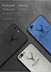 Luxury Batman Christmas Deer Phone Case For IPhone X Ultra Thin Silicone Cover For IPhone 6 6s 7 Plus Case For IPhone XS Max Xr