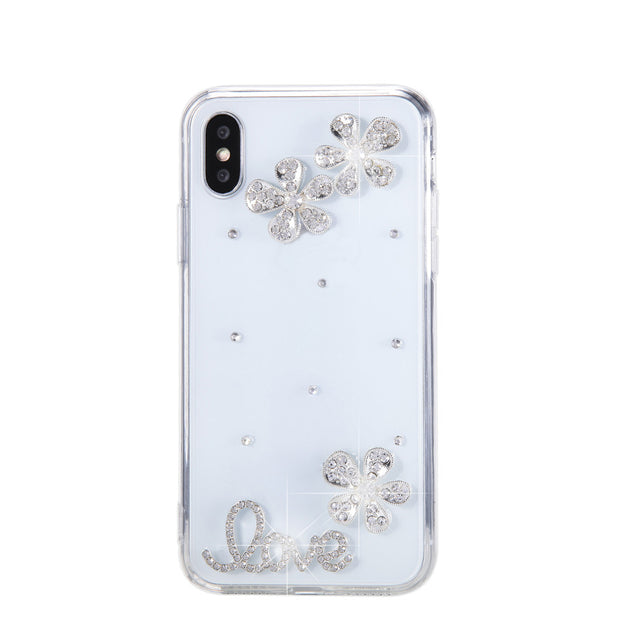 Crystal Diamond Soft Clear Case
