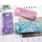 Luxury Glitter Case For Samsung Galaxy A5 2017 Cover Silicone Case For Samsung A3 2017 Cover Dynamic Liquid Quicksand Coque