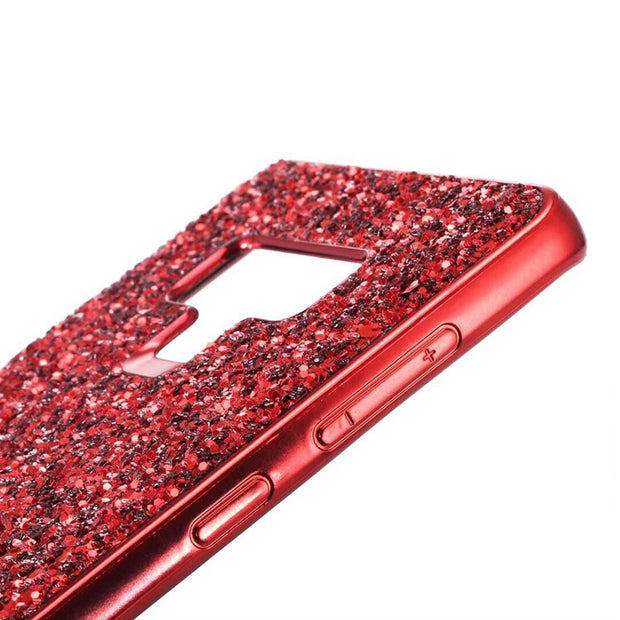 Luxury Glitter Glossy Silicon Phone Case For Samsung Galaxy S9 S8 Plus Note 9 8 S7 Edge J4 J6 J8 A6 Plus 2018 Cover TPU Fundas