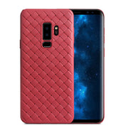 Luxury Grid Weaving Phone Case For Samsung Galaxy S9 S9 Plus Cases Cover Soft Silicone TPU Capa For Samsung S9Plus Accessories