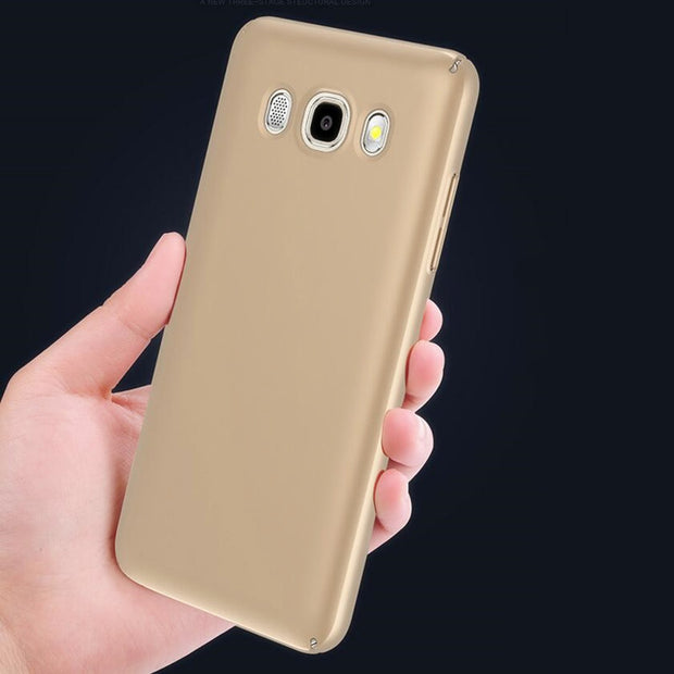Luxury PC Ultra Thin Phone Case For Coque Samsung Galaxy J5 2016 Case J510 J510F SM-J510F Phone Case Capa For Samsung J5 2016