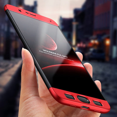 MAODI For Xiaomi Note 3 Case Luxury 360 Degree Full Protection Case Hard PC 3 In 1 Fundas Coque Back Cover For Xiaomi Mi Note3