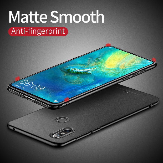 MSVII Cover Xiaomi Mi Mix 3 2S 2 S Case Finger Ring Frosted Cover Xiomi Mix 3 2 S Case Holder Cover For Xiaomi Mix3 Mix2 S Cases