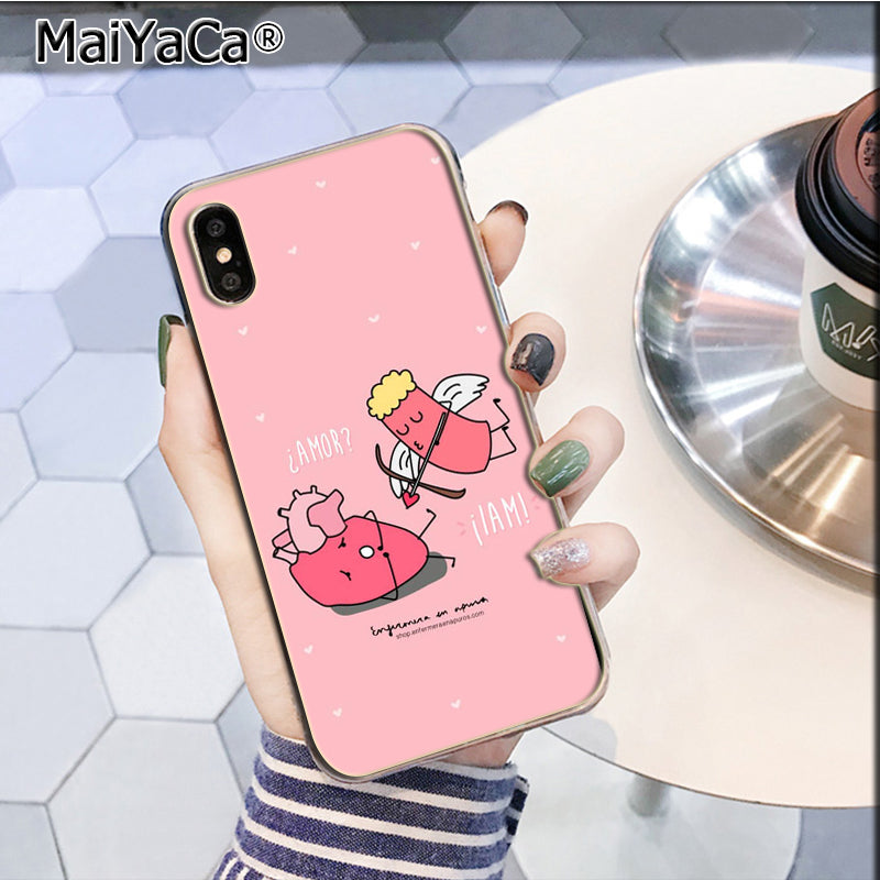 Half-wrapped Case Maiyaca Cartoon Medicine Nurse Doctor Dentist New Personalized Phone Case For Iphone 5 5s Se 6 6s Plus 7 8 Xr X Xs Max Shell Cellphones & Telecommunications