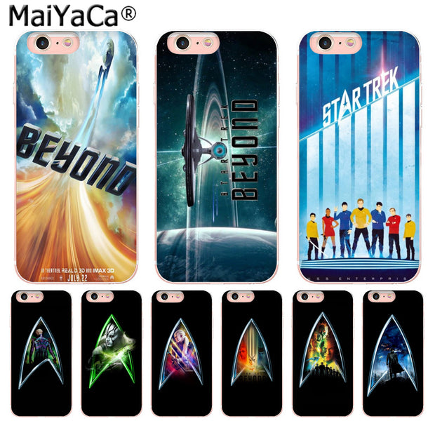 big sale 0cd1c 907d5 MaiYaCa Star Trek Beyond Luxury TPU Rubber Phone Case Cover For Apple  IPhone 8 7 6 6S Plus X 5 5S SE XR XS XS MAX Mobile Cover