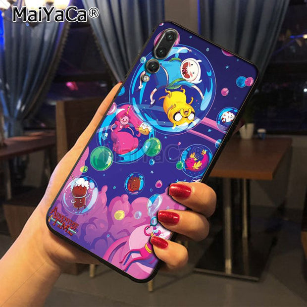 Maiyaca Adventure Time With Jake And Finn Bmo Ultra Thin Pattern Tpu Phone Case For Huawei P20 P20 Pro Honor9 Mate10 Case Cover