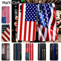 Maiyaca American Flag Diy Cell Phone Protective Case For Huawei Honor 9 Honor 10 P20 Case Coque
