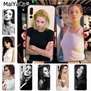 Maiyaca Angelina Jolie High Quality Classic Phone Accessories Case For Huawei P20 P20 Pro Honor9 Mate10 Case Cover