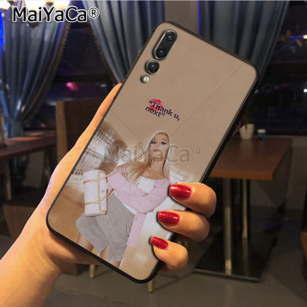 Maiyaca Ariana Grande Top Detailed Popular Phone Case For Huawei P20 P20 Pro Honor9 Mate10 Case Cover