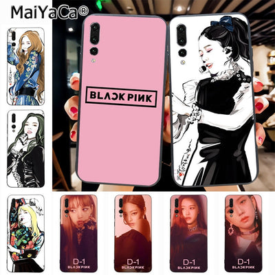 Maiyaca BLACKPINK High Quality Classic High-end Phone Accessories Case For Huawei P20 P20 Pro Honor9 Mate10 Case Cover