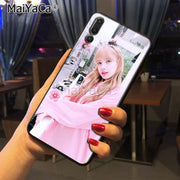 Maiyaca BlackPink Lisa New Luxury Fashion Cell Phone Case For Huawei Honor 9 Honor 10 P20 Case Coque