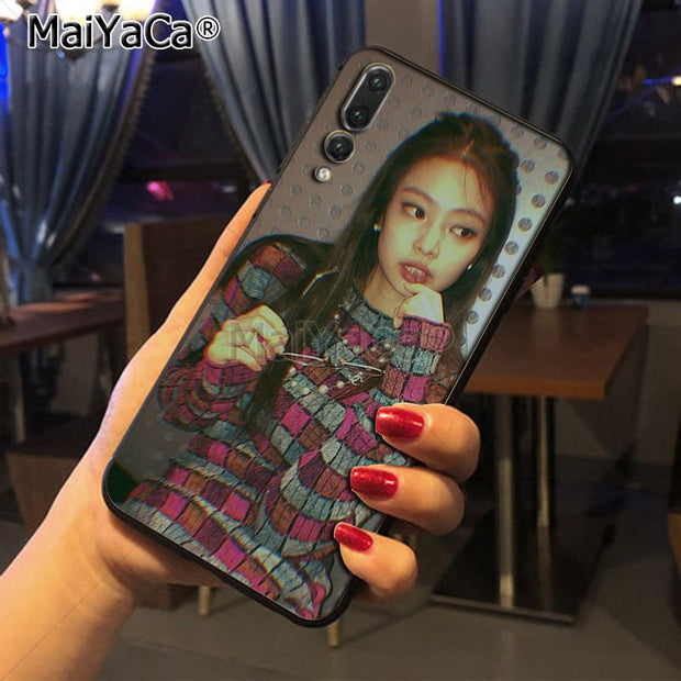Maiyaca Blackpink Jennie New Luxury Fashion Cell Phone Case For Huawei P20 P20 Pro Mate10 P10 Plus Honor9 Cass