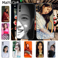 Maiyaca Blackpink Jisoo Hot Selling Fashion Phone Case Cover For Huawei Honor 9 Honor 10 P20 Case Coque
