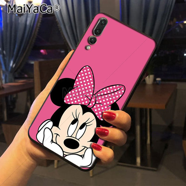 Maiyaca Cartoon Character New Arrival Phone Ultrathin Case For Huawei P20 P20 Pro Honor9 Mate10 Case Cover