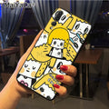 Maiyaca Cartoon Characters Classic Image Paintings Cover Mobile Phone Case For Huawei P20 P20 Pro Honor9 Mate10 Case Cover