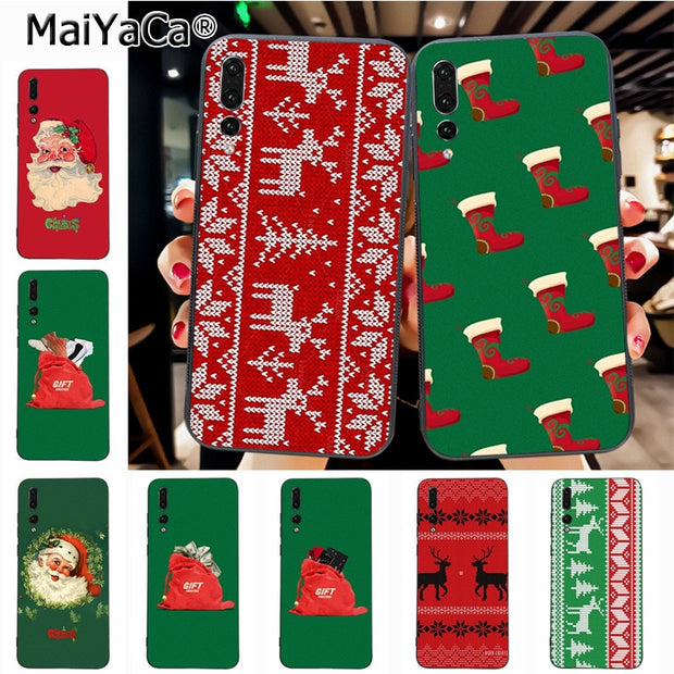 Maiyaca Christmas Unique Design High Quality Phone Case For Huawei P20 P20 Pro Honor9 Mate10 Case Cover