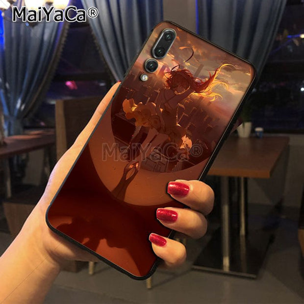 Maiyaca EVA Asuka Pattern Style Luxury Accessories Shell Original Case For Huawei P20 P20 Pro Honor9 Mate10 Case Cover