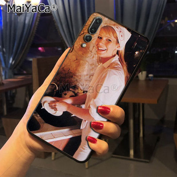 Maiyaca Gwyneth Paltrow Diy Luxury High-end Protector Phone Case For Huawei Honor 9 Honor 10 P20 Case Coque