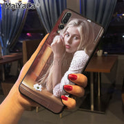 Maiyaca Hermione Corfield Printing Drawing Protection Phone Cover Case For Huawei P20 P20 Pro Honor9 Mate10 Case Cover