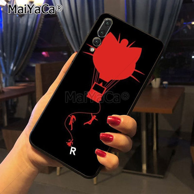 Maiyaca Japanese Cartoon Luxury High-end Phone Accessories Case For Huawei P20 P20 Pro Mate10 P10 Plus Honor9 Cass