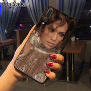 Maiyaca Jennifer Lopez USA POP Star Sexy Unique Design Newest The Fashion Phone Case For Huawei Honor 9 Honor 10 P20 Case Coque
