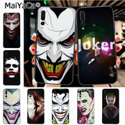 Maiyaca Joker Colorful Phone Accessories Case For Huawei Honor 9 Honor 10 P20 Case Coque