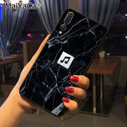 Maiyaca Marble Broken Glass Cute Phone Accessories Case For Huawei P20 P20 Pro Mate10 P10 Plus Honor9 Case