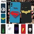 Maiyaca Marvel DC Superhero Colorful Cute Phone Accessories Case For Huawei P20 P20 Pro Honor9 Mate10 Case Cover