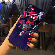 Maiyaca Miles Morales Amazing Landscape Phone Case For Huawei Honor 9 Honor 10 P20 Case Coque