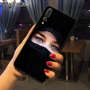Maiyaca Muslim Islamic Gril Top Detailed Popular Phone Case For Huawei P20 P20 Pro Honor9 Mate10 Case Cover