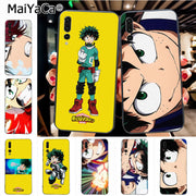 Maiyaca My Hero Academia Classic Geometric Print Phone Accessories Case For Huawei Honor 9 Honor 10 P20 Case Coque