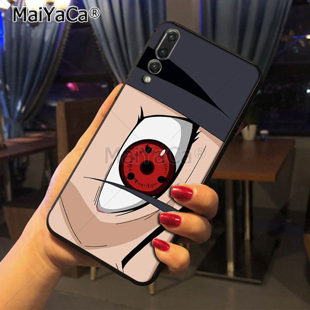 Maiyaca Naruto Sharingan Top Detailed Popular Phone Case For Huawei Honor 9 Honor 10 P20 Case Coque