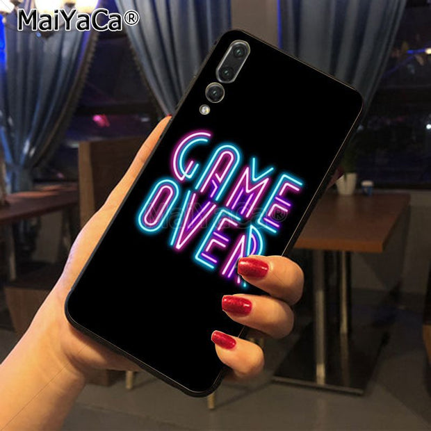 Maiyaca Negative Pattern Style Luxury Accessories Shell Original Case For Huawei P20 P20 Pro Honor9 Mate10 Case Cover