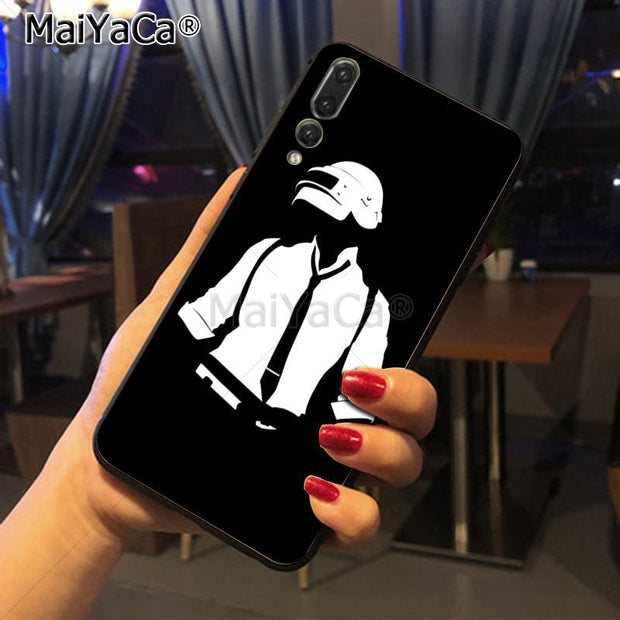 Maiyaca PUBG Originalblack Tpu Phone Case Cover For Huawei Honor 9 Honor 10 P20 Case Coque