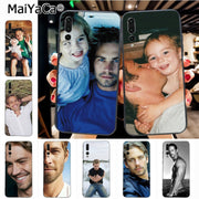 Maiyaca Paul Walker Luxury Hybrid Phone Case For Huawei P20 P20 Pro Mate10 P10 Plus Honor9 Cass