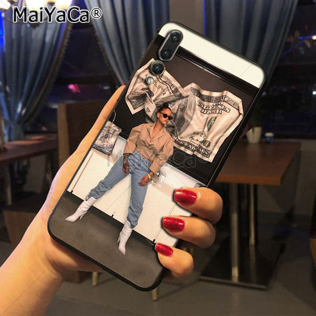 Maiyaca Rihanna Amazing New Arrival Phone Case Cover For Huawei Honor 9 Honor 10 P20 Case Coque