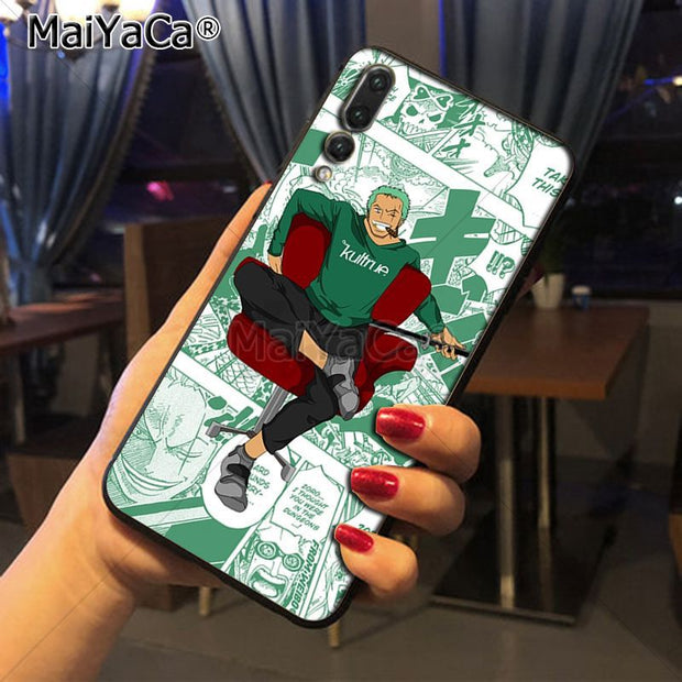 Maiyaca Roronoa Zoro Luxury High-end Phone Accessories Case For Huawei Honor 9 Honor 10 P20 Case Coque