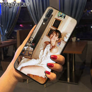 Maiyaca Sophie Marceau High Quality Classic Phone Accessories Case For Huawei P20 P20 Pro Honor9 Mate10 Case Cover