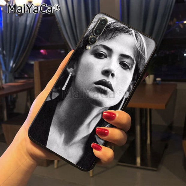 Maiyaca Sophie Marceau Young DIY Painted Beautiful Phone Accessories Case For Huawei Honor 9 Honor 10 P20 Case Coque