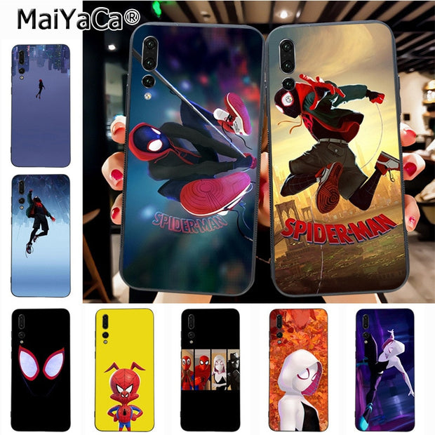 Maiyaca SpiderMan Into The Spider Verse On Sale Luxury Phone Accessories Case For Huawei P20 P20 Pro Mate10 P10 Plus Honor9 Case