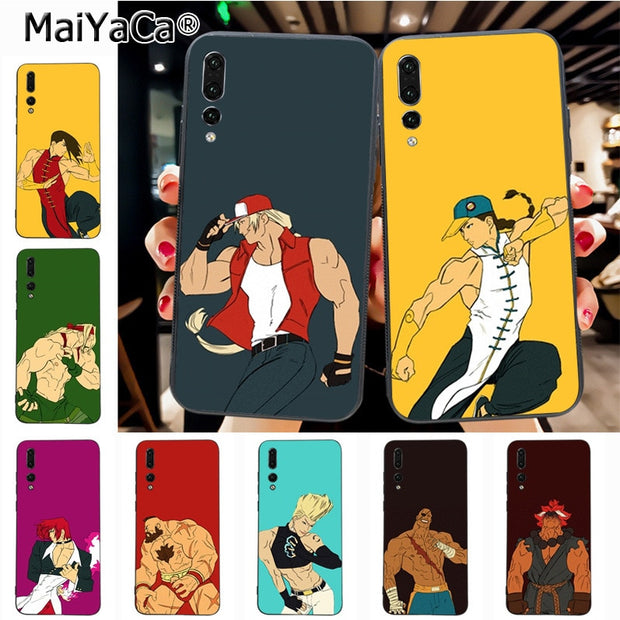 Maiyaca Fright Soft Tpu Rubber Cell Phone Case For Huawei P20 P20 Pro Honor9 Mate10 Case Cover