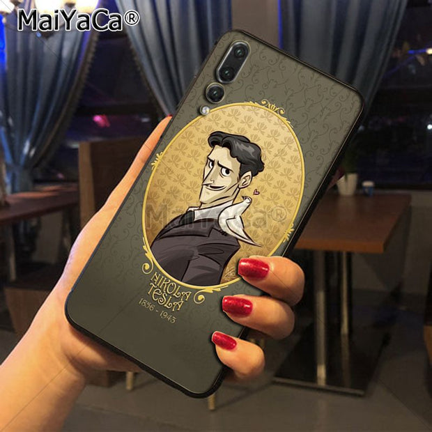 Maiyaca Nikola Tesla New ArrivalFashion Phone Case Cover For Huawei Honor 9 Honor 10 P20 Case Coque