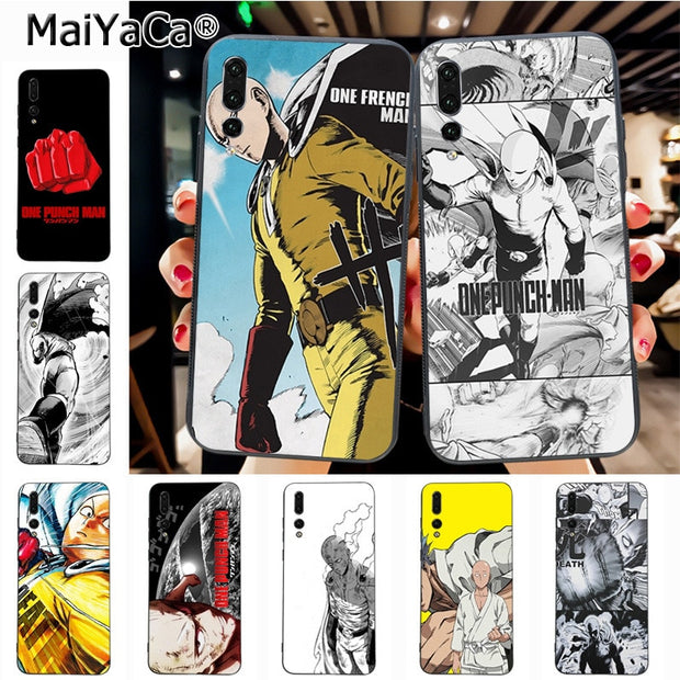Maiyaca Saitama Amazing New Arrival Phone Case Cover For Huawei Honor 9 Honor 10 P20 Case Coque
